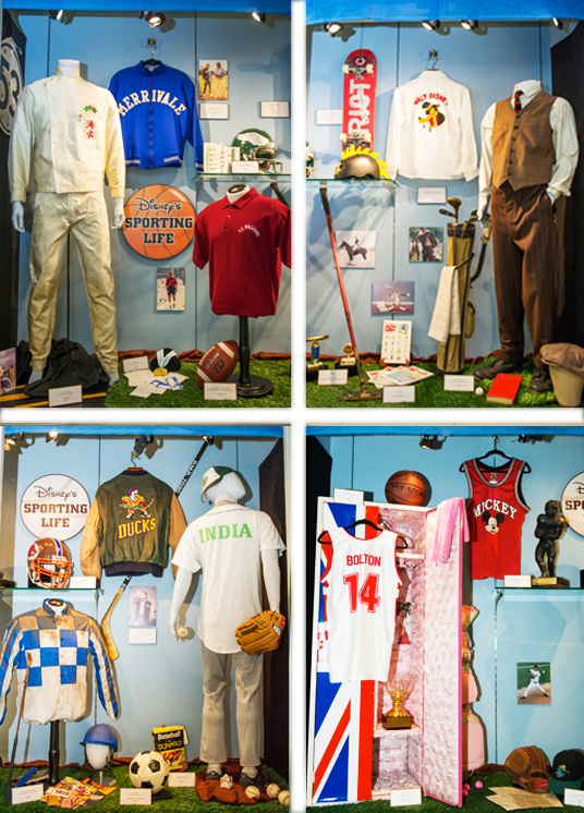 """Disney's Sporting Life,"" featuring props, costumes and set decorations from some of Disney's most memorable sports-related productions"
