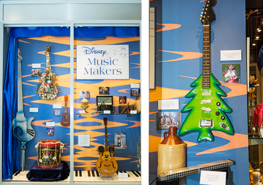 """Disney Music Makers,"" features musically related props and instruments from several Disney properties"