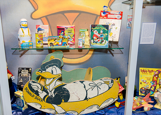 exhibit celebrating Donald Duck's 80th anniversary