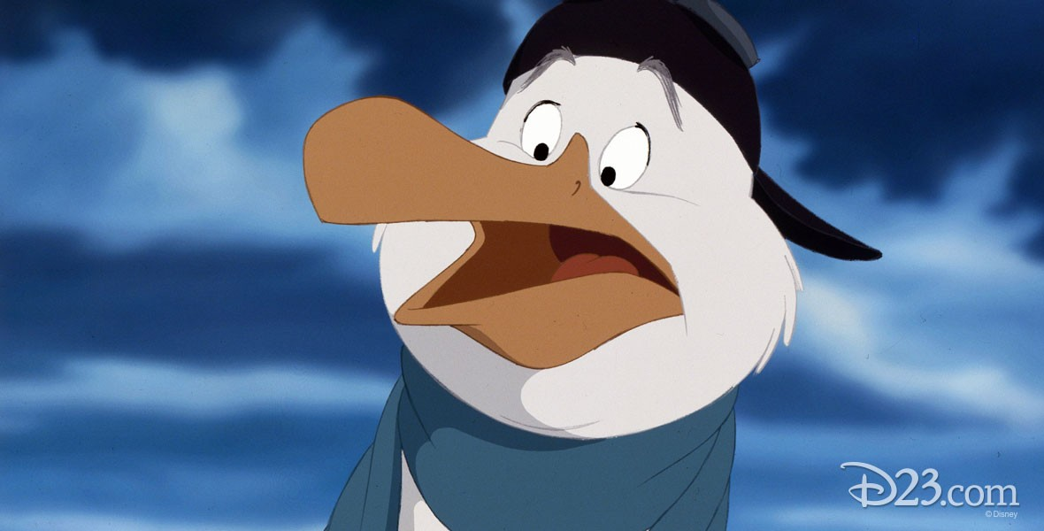 Photo of Wilbur an albatross in Disney's The Rescuers Down Under