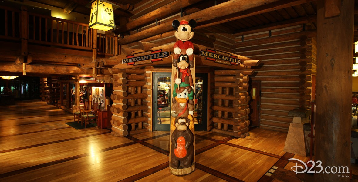 Wilderness Lodge Mercantile Shop at the Wilderness Lodge Resort at Walt Disney World