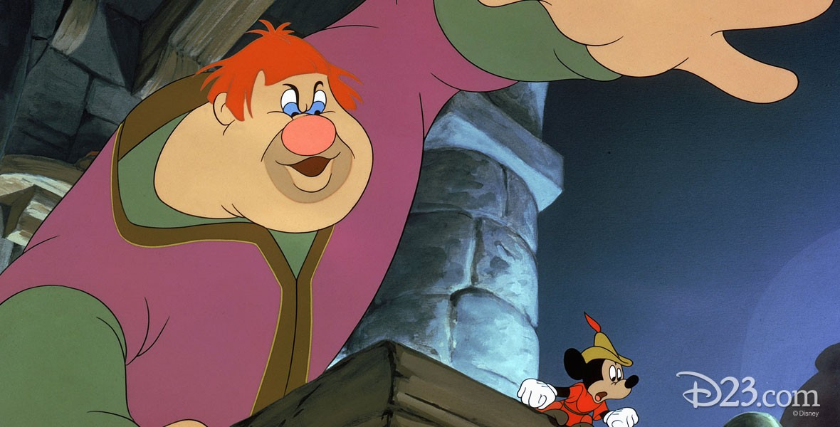 Photo of Willie the Giant Character in Mickey and the Beanstalk