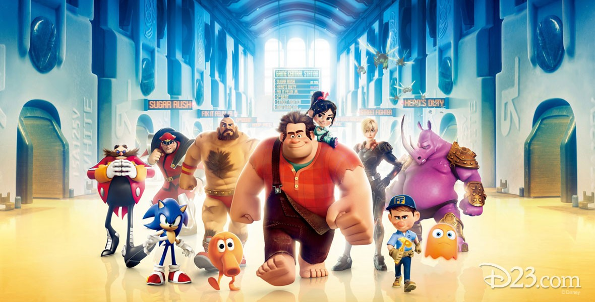 Characters from Disney's Wreck-It Ralph (film)
