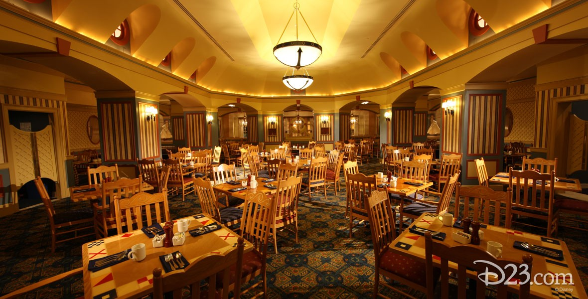 Yacht Club Galley Restaurant in the Yacht Club Resort at Walt Disney World