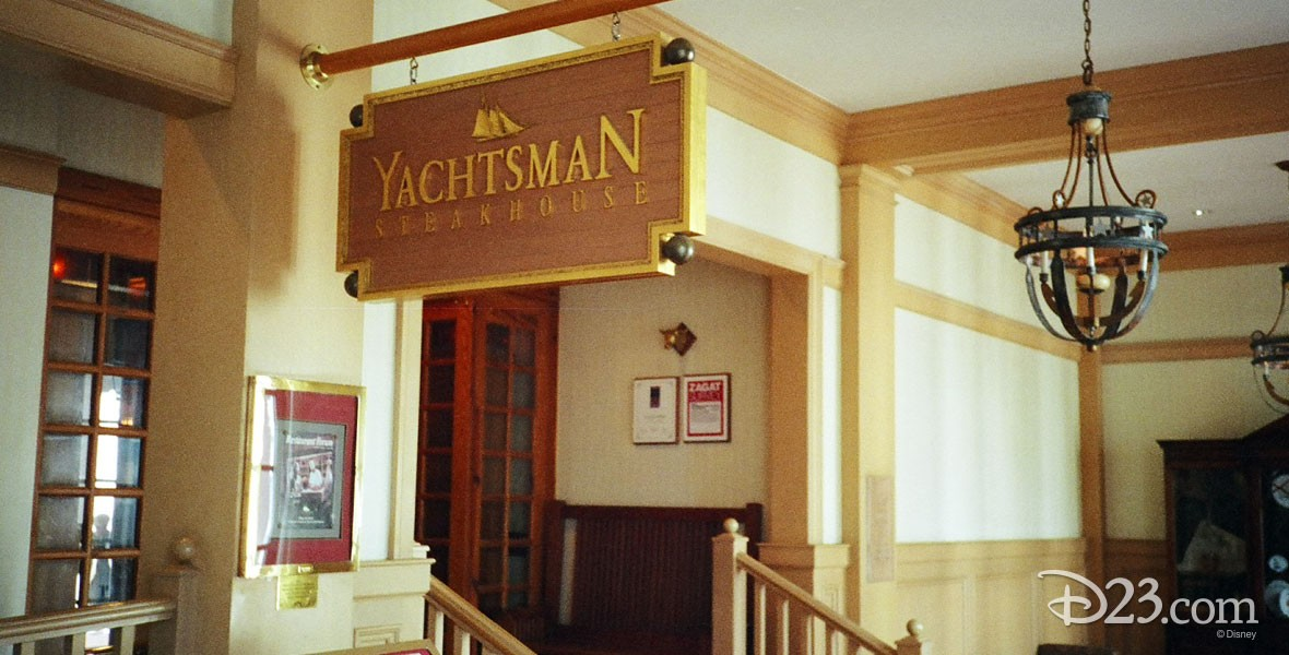 Yachtsman Steakhouse at the Yacht Club Resort at Walt Disney World
