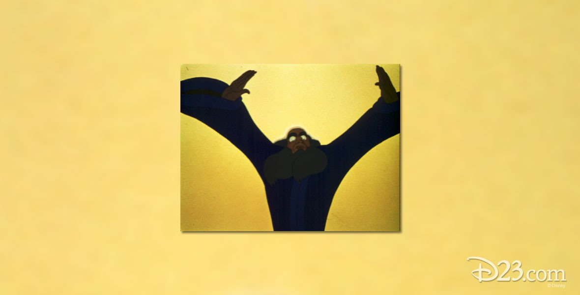 Yen Sid Sorcerer in The Sorcerer's Apprentice segment of Fantasia