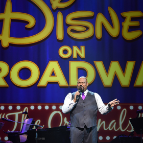 James Monroe Iglehart Disney on Broadway