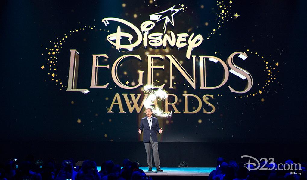 photo of Robert Iger hosting 2015 Disney Legends Awards