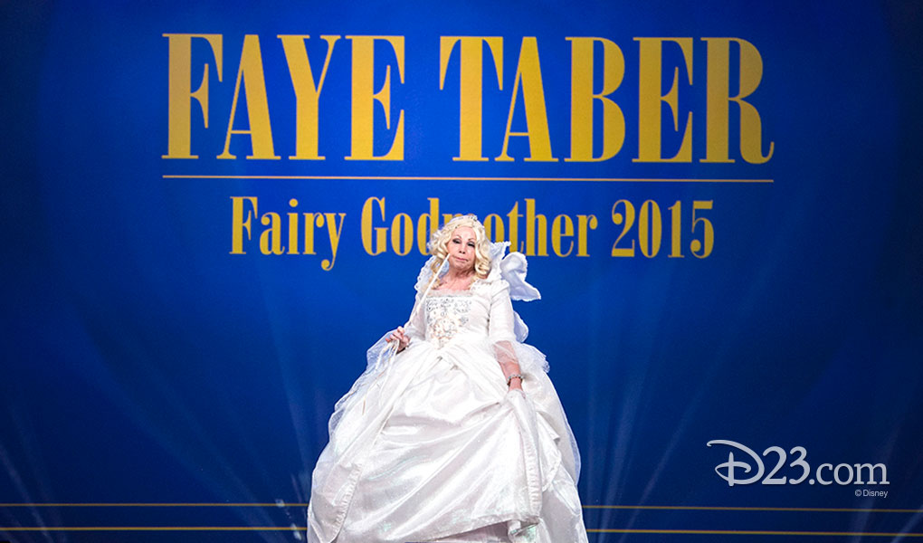 FAYE TABER as Fairy Godmother 2015