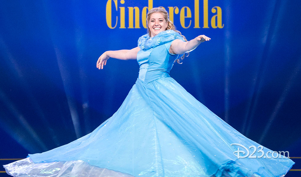 CATIE OMER as Cinderella