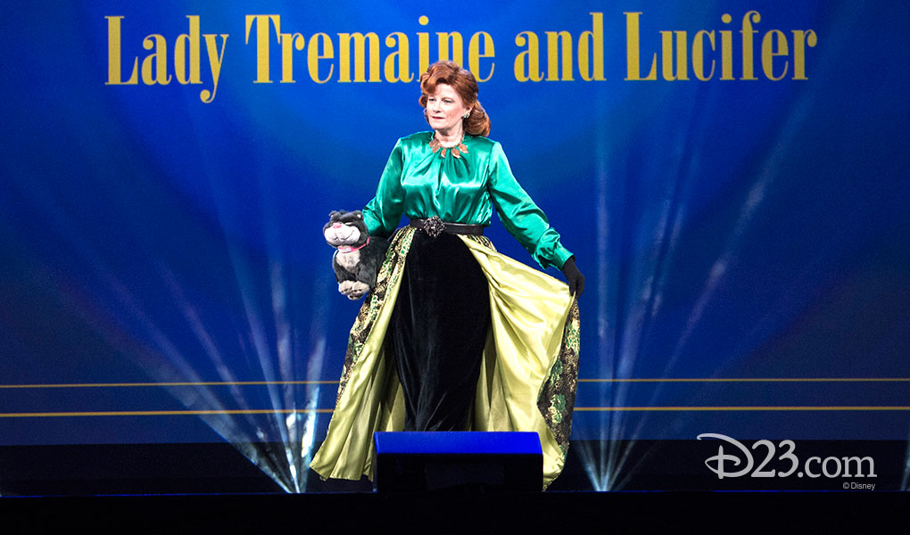 ROBERTA NICHOLS as Lady Tremaine and Lucifer