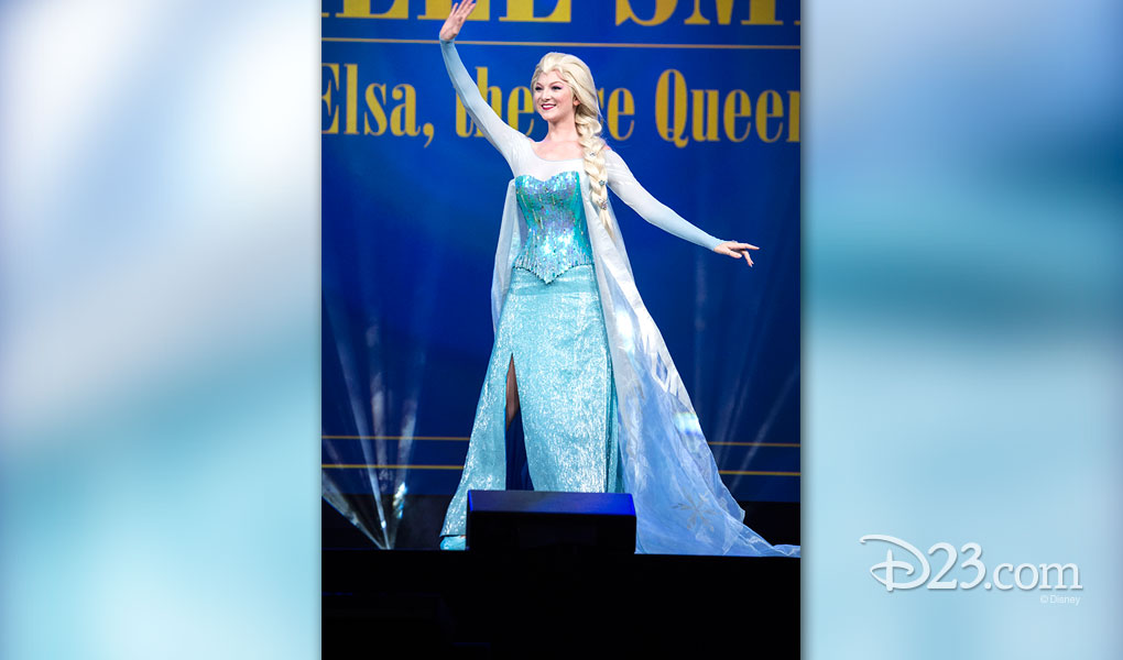 ASHLEE SMITH as Elsa, the Snow Queen