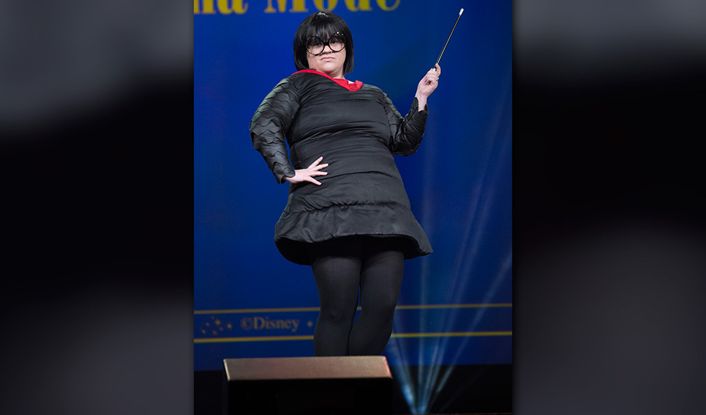 Edna Mode Costume Winner