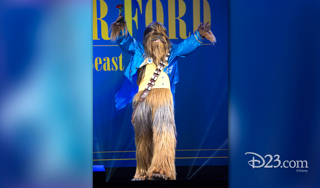 ALEXANDER FORD as Chewbacca Beast