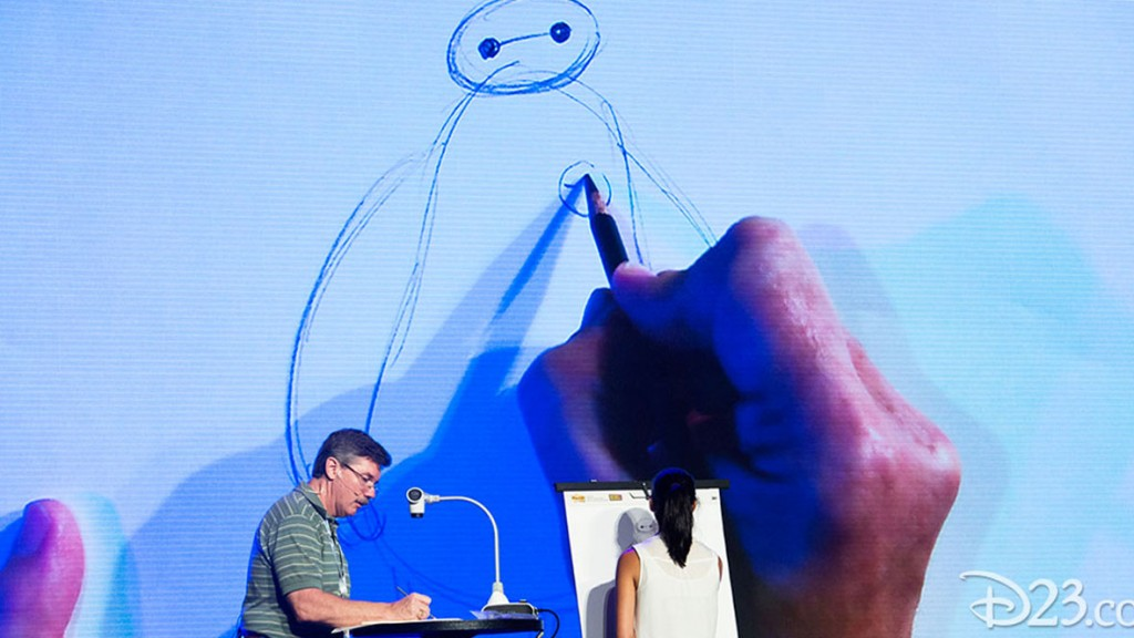 MARK HENN and Big Hero 6 at D23 EXPO 2015