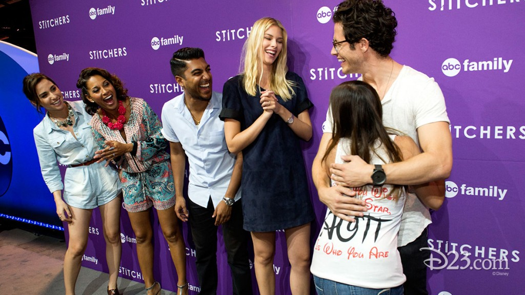ALLISON SCAGLIOTTI, SALLI RICHARDSON-WHITFIELD, RITESH RAJAN, EMMA ISHTA, KYLE HARRIS of ABC Family's Stitchers
