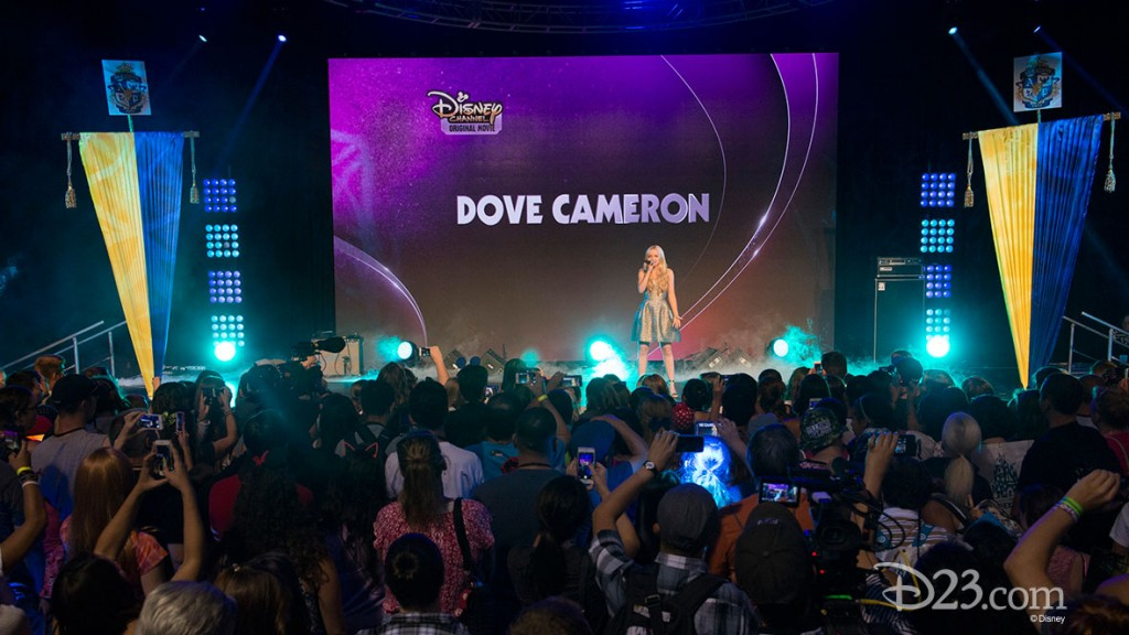 Dove Cameron Performing at D23 EXPO 2015