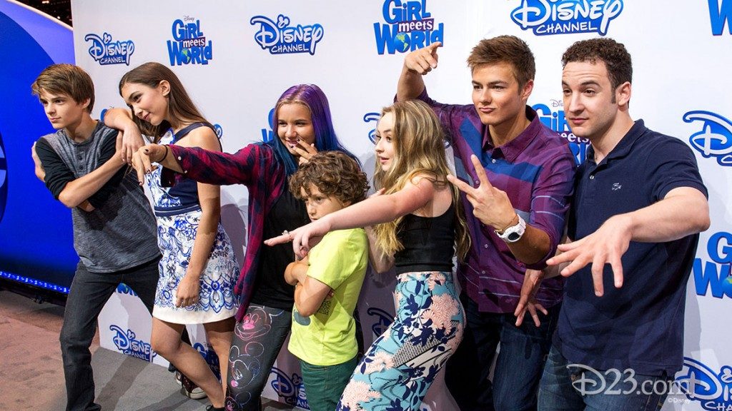 COREY FOGELMANIS, AUGUST MATURO, ROWAN BLANCHARD, SABRINA CARPENTER, PEYTON MEYER, BEN SAVAGE at D23 EXPO 2015