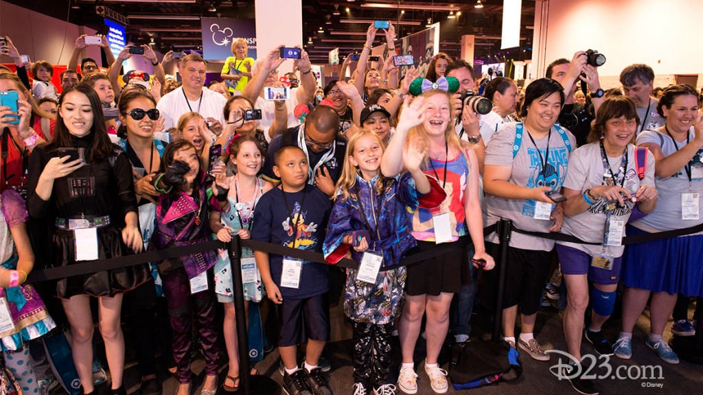 Fans at D23 EXPO 2015