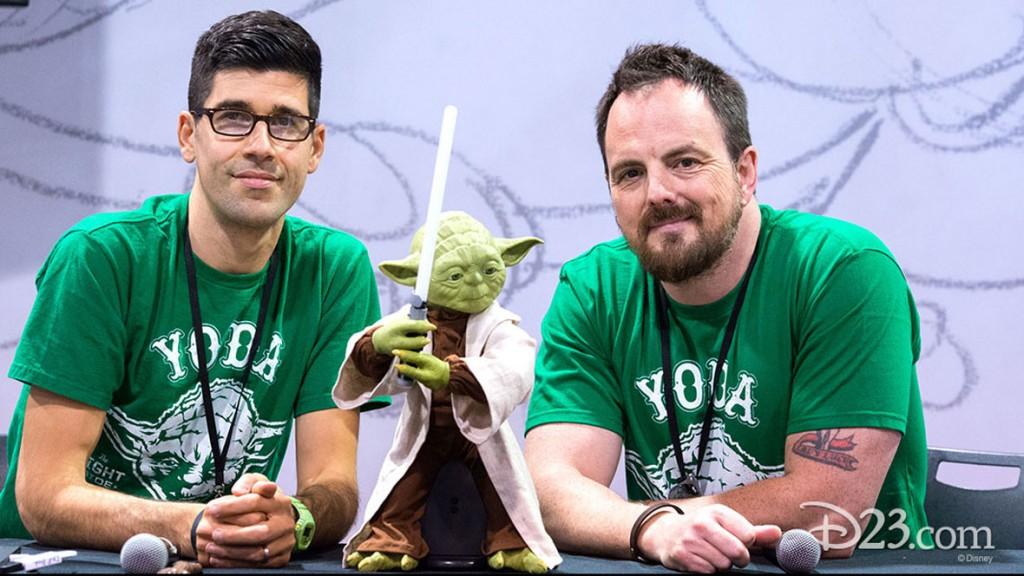 Yoda at D23 EXPO 2015