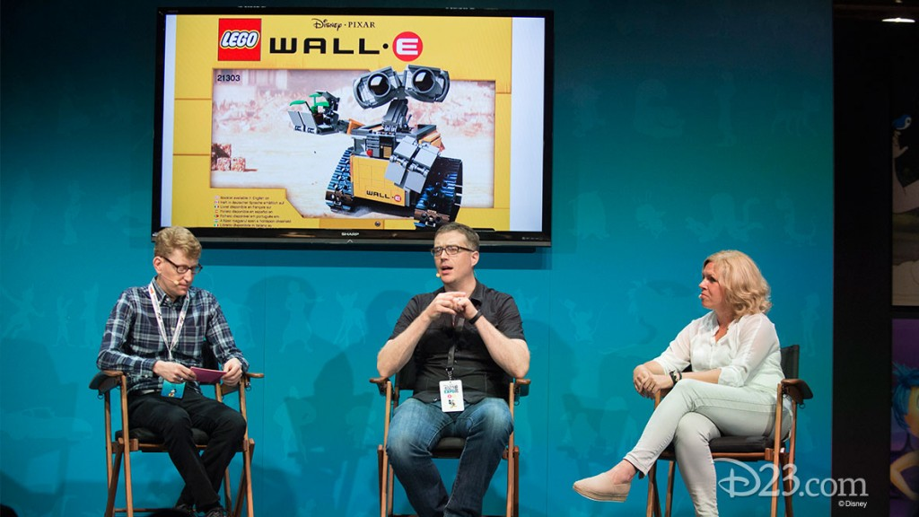 ERIC LEWIS, ANGUS MACLANE, DAIVA S. NALDAL at D23 EXPO 2015