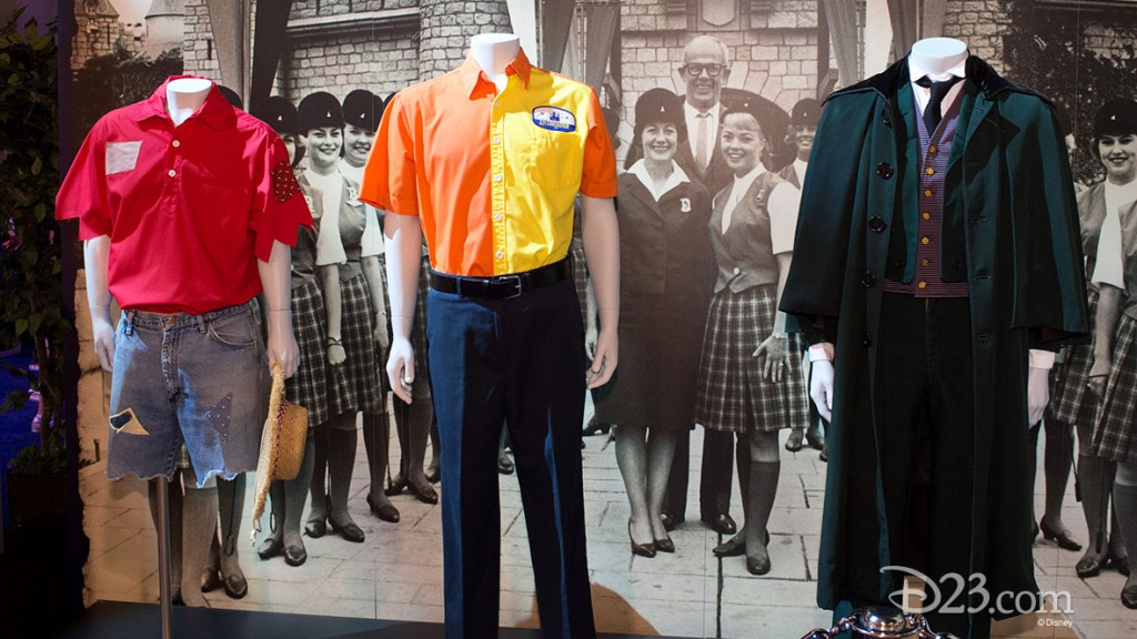 Disneyland Archives Exhibit at D23 EXPO 2015