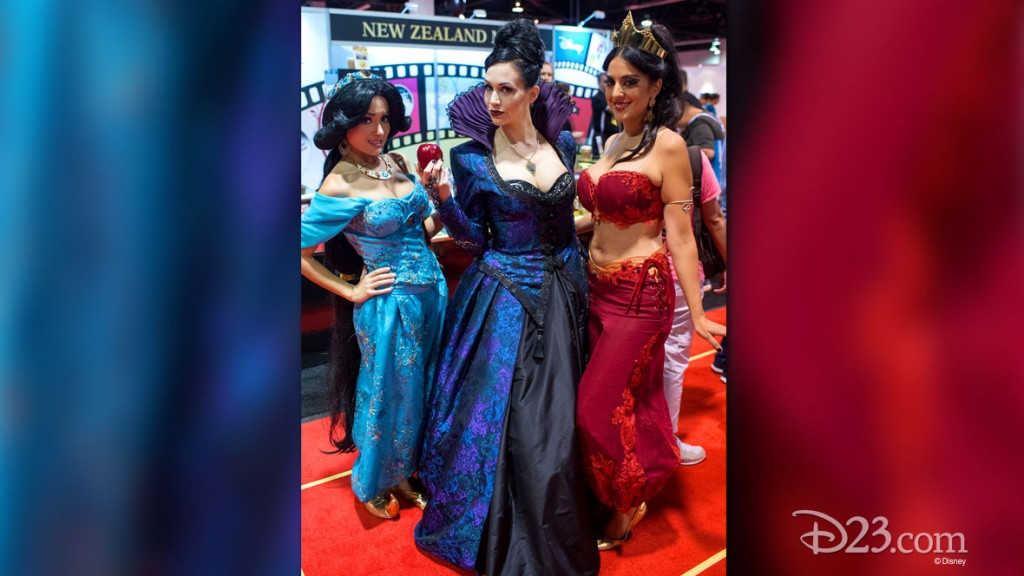 Fans in costume at D23 EXPO 2015