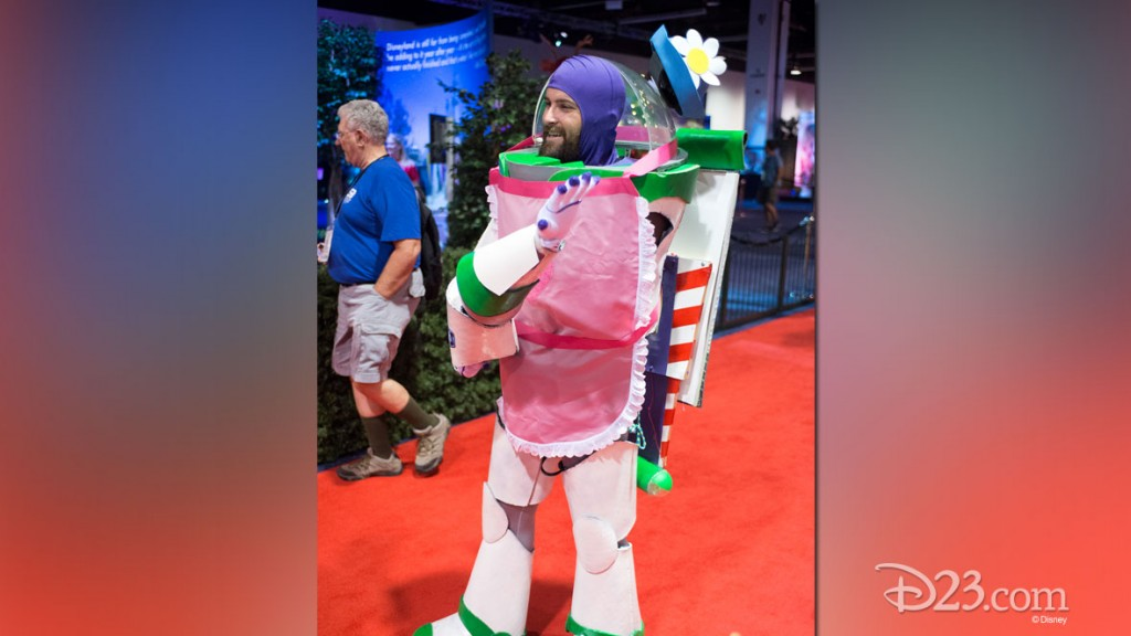 Buzz Lightyear Fan in costume at D23 EXPO 2015