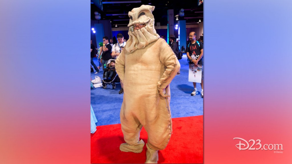 Fan dressed as Star Wars character at D23 EXPO 2015