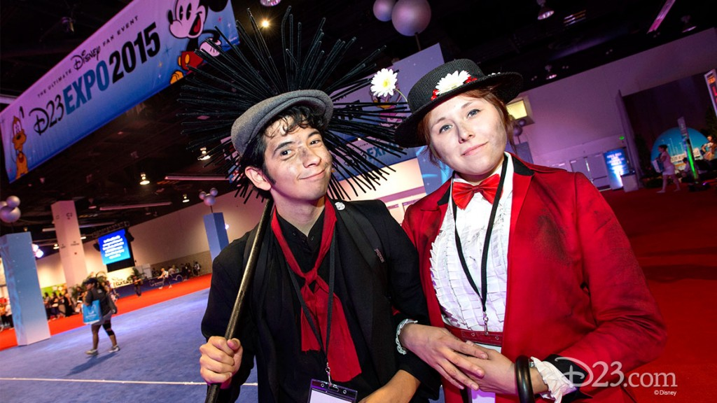 Mary Poppins Fans at D23 EXPO 2015