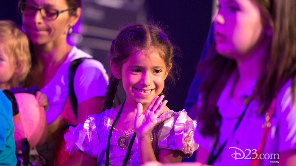 Little girl at D23 EXPO 2015