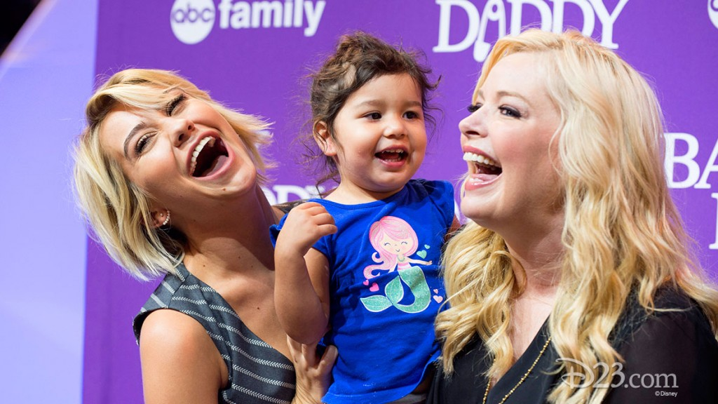 CHELSEA KANE, MELISSA PETERMAN at D23 EXPO 2015