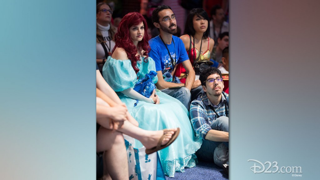 Frozen Fan at D23 EXPO 2015