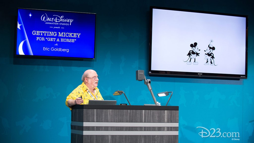"ERIC GOLDBERG at D23 EXPO 2015 ""Get a Horse"" Panel"