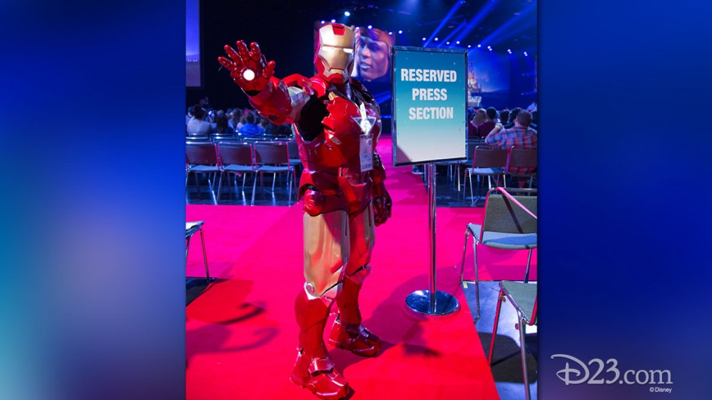 Iron Man at D23 EXPO 2015