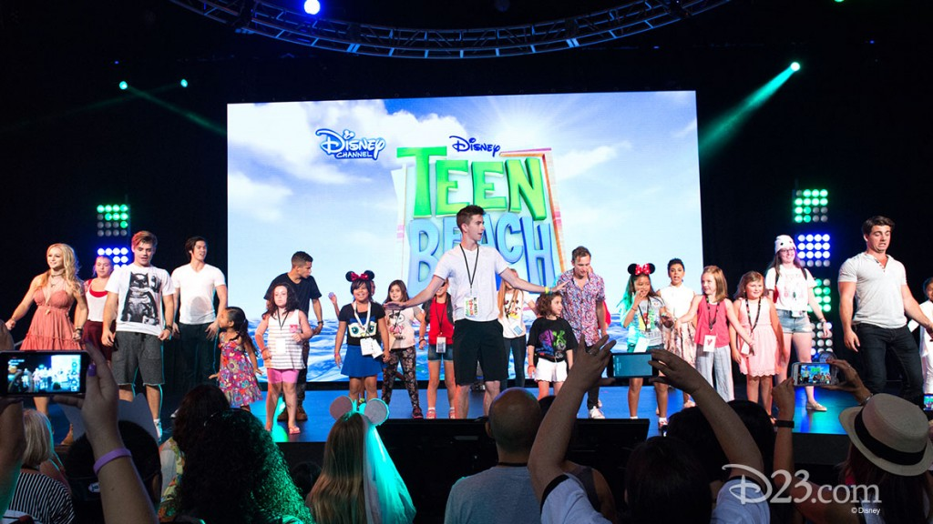 Teen Beach at D23 EXPO 2015