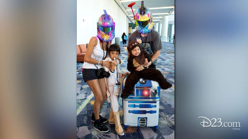 Star Wars Fans at D23 EXPO 2015