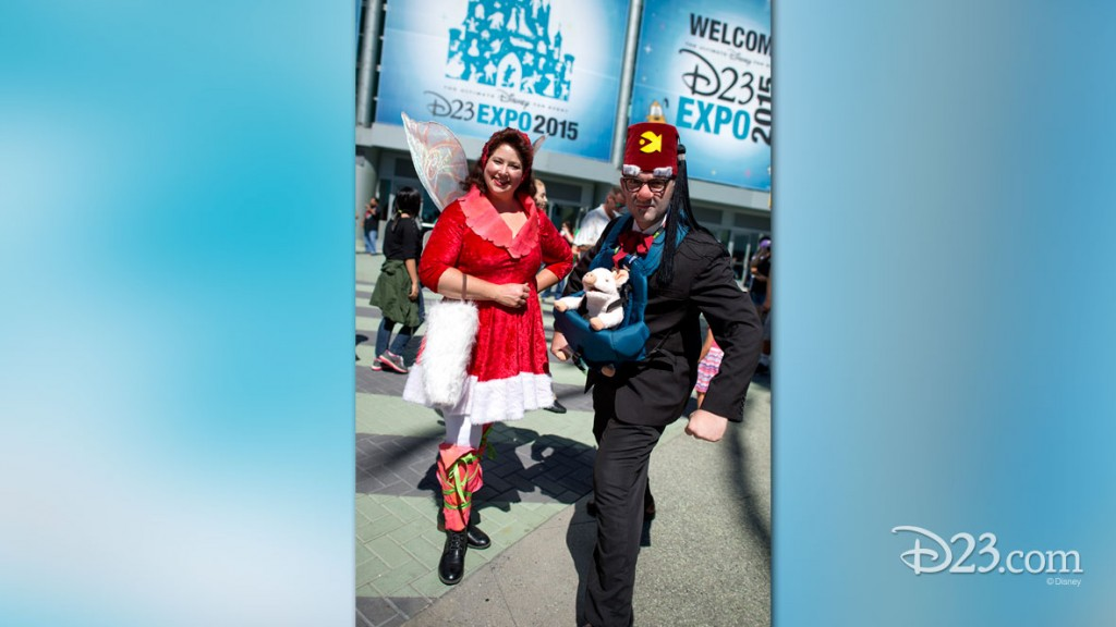 Gravity Falls Fans in Costume at D23 EXPO 2015