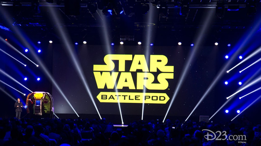 Star Wars Battle Pod Panel at D23 EXPO 2015