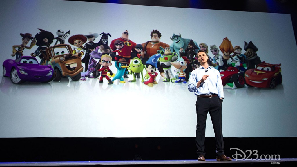 JIMMY PITARO Disney*Pixar Animation Panel at D23 EXPO 2015