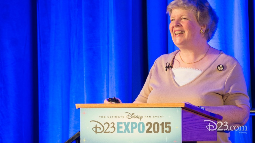 STACIA MARTIN at D23 EXPO 2015