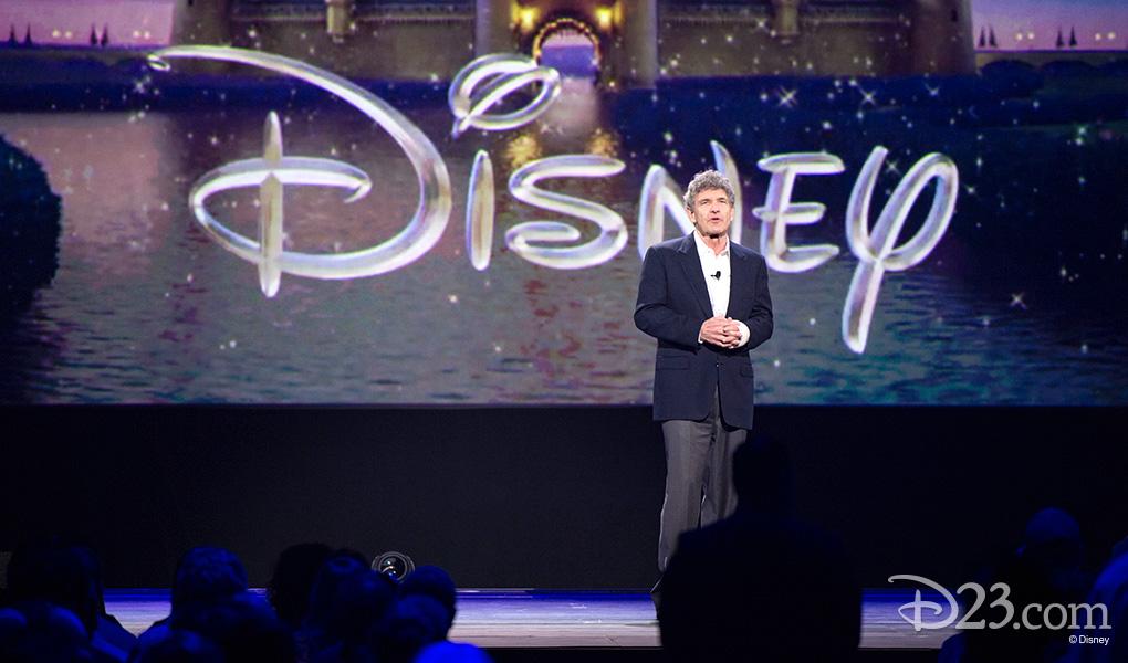 photo of Walt Disney Studios Chairman Alan Horn on stage