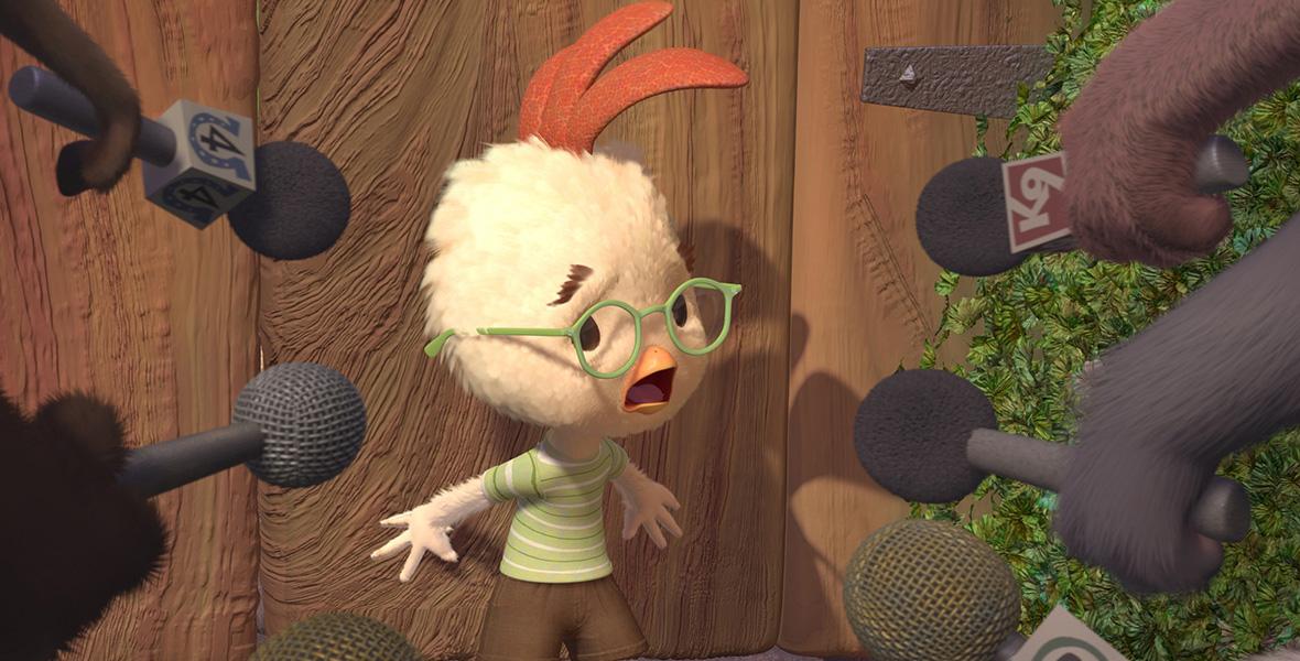 Chicken Little Film 2005 D23
