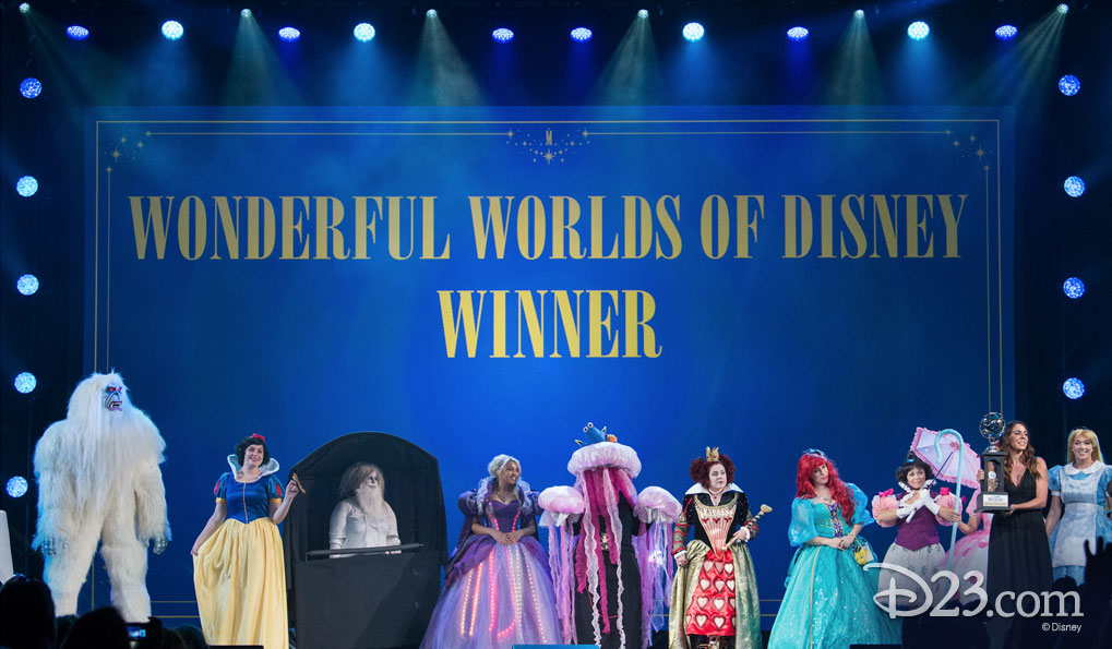 Wonderful Worlds of Disney Winners