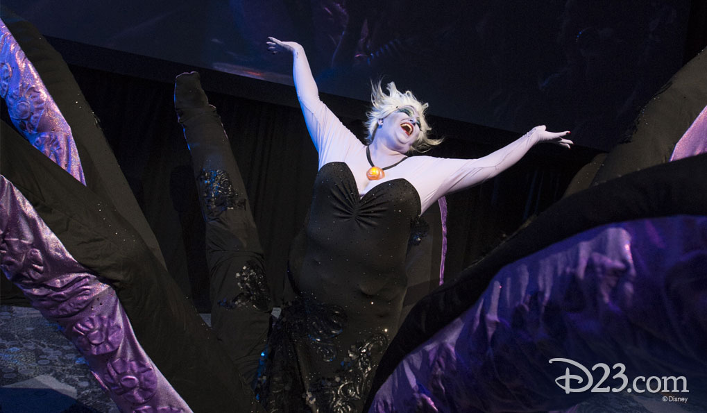 JUDITH GRIVICH as Ursula from The Little Mermaid