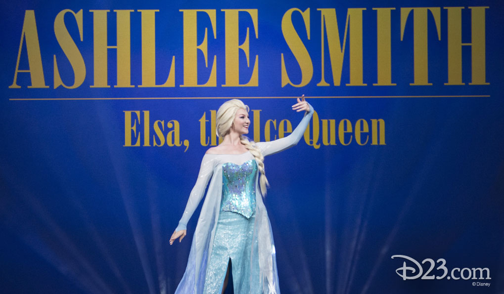 ASHLEE SMITH as Elsa, the Ice Queen