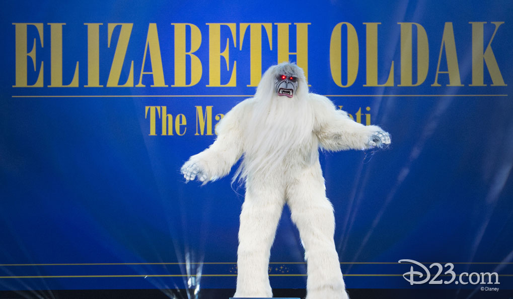 ELIZABETH OLDAK as the Matterhorn Yeti