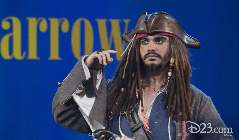 ANDREW METZGER as Captain Jack Sparrow