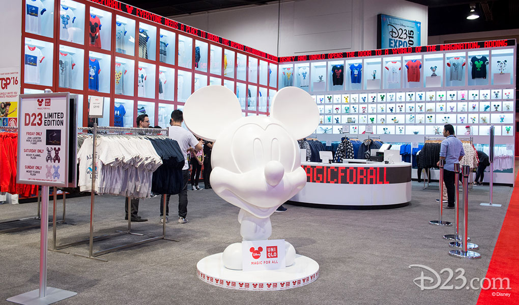 photo of the Disney Dream Store at D23 EXPO 2015