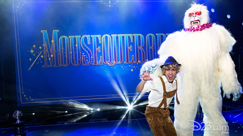 Photo of Matterhorn Bobsleds Yeti Snowman costume at D23 EXPO 2015 Mousequerade event